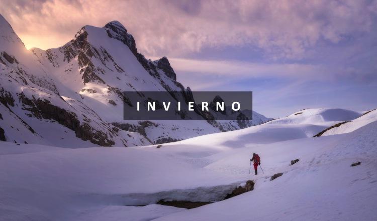 Actividades invierno Trekking Aragón