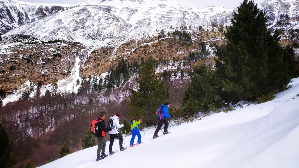 Raquetas de nieve Linza, Pirineo Aragonés