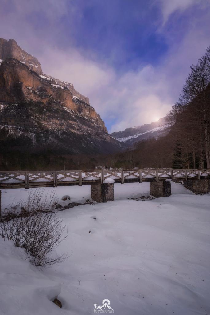 Fotografía Ordesa en invierno